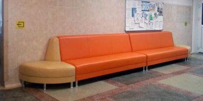 Модульные диваны для дома престарелых