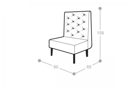 Мягкое кресло Олфорд