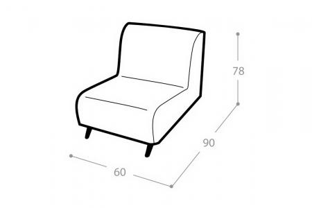 Мягкое кресло Прайд