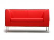 Офисный диван Мадрид 2-х местный